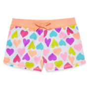 Okie Dokie® Printed Shorts - Preschool Girls 4-6x