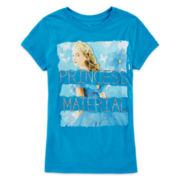 Cinderella Glitter Graphic Tee - Girls 7-16