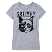 Grumpy Cat Graphic Tee - Girls 7-16