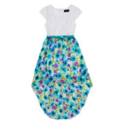 Disorderly Kids® Floral and Lace High-Low Dress - Girls 7-16