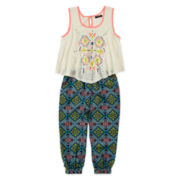 My Michelle® Popover Jumpsuit - Girls 7-16
