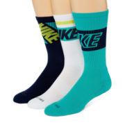 Nike® 3-pk. Dri-FIT® Fly Rise Crew Socks