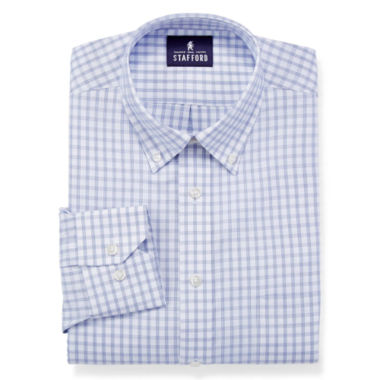 jcpenney.com | Stafford® Executive Non-Iron Cotton Pinpoint Oxford Dress Shirt