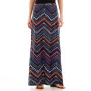 Lily Star Print Maxi Skirt
