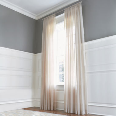 jcpenney.com | Royal Velvet® Crushed Voile Rod-Pocket Sheer Panel