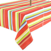 Cabana Stripe Outdoor Tablecloth