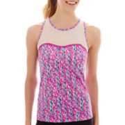 Xersion™ Mesh-Yoke Racerback Tank Top