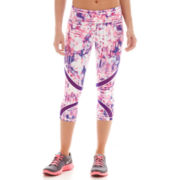 Xersion™ Print Mesh-Inset Capris - Tall