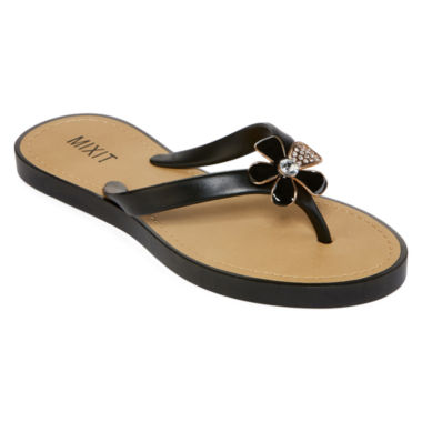 jcpenney.com | Mixit™ Epoxy Flower Jelly Sandals