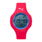 Puma® Loop Red Polyurethane Strap Watch PU910801040