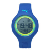 Puma® Loop Blue Polyurethane Strap Watch PU910801041