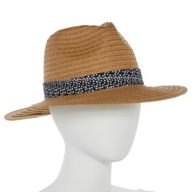 jcpenney.com | Mixit™ Panama Hat with Print Star Trim