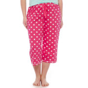 Sleep Chic® Print Sleep Capris - Plus