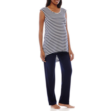 jcpenney.com | Spencer Maternity Nursing Top and Pants Set
