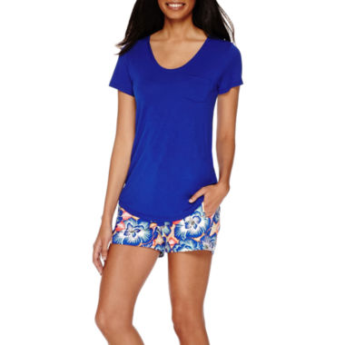 jcpenney.com | Stylus™ Voop Pocket Tee or Twill Shorts - Tall