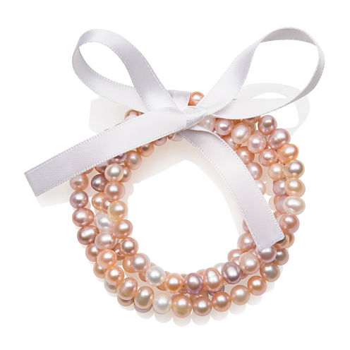 Multicolor Cultured Freshwater Pearl 4-pc. Stretch Bracelet Set