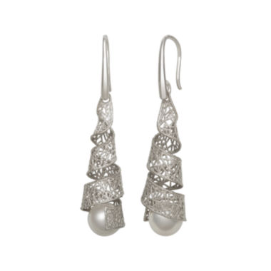 jcpenney.com | Cultured Freshwater Pearl Sterling Silver Earrings