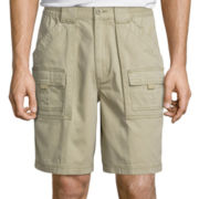 "St. John's Bay® 9"" Cargo Hiking Shorts"
