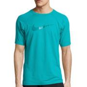 Nike® Short-Sleeve Swoosh Swim Tee