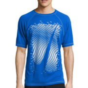 Nike® Evenflow Swoosh Short-Sleeve Swim Tee