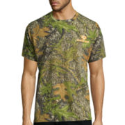 Mossy Oak® Short-Sleeve Camo Obsession Cotton Tee