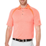 PGA TOUR® Short-Sleeve Performance Colorblock Polo
