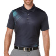 PGA TOUR® Short-Sleeve Argyle Polo Shirt