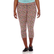 City Streets® Cropped Performance Pants - Juniors Plus