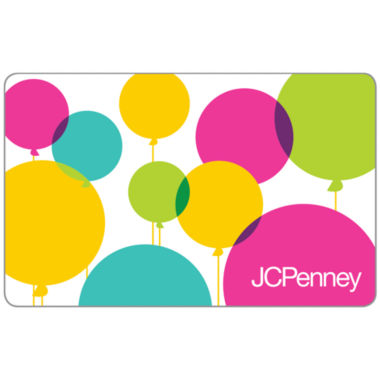 jcpenney.com | $25 Birthday Balloons Gift Card