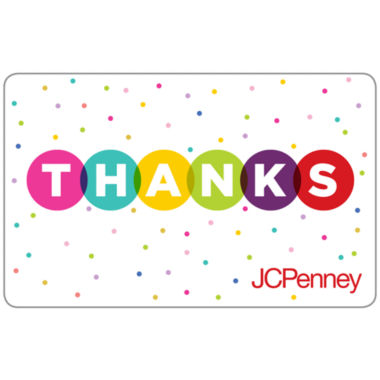 jcpenney.com | $25 Thanks Dots Gift Card