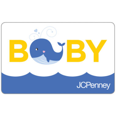 jcpenney.com | $50 Baby Whale Gift Card