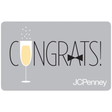 jcpenney.com | $50 Glass Bow Tie Gift Card