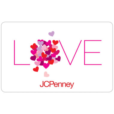 jcpenney.com | $25 Love Hearts Gift Card