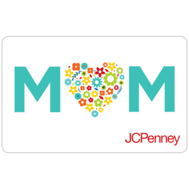 jcpenney.com | $25 Moms Hearts Gift Card