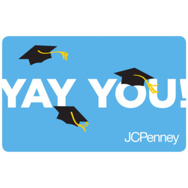 jcpenney.com | $25 Grad Hats Gift Card