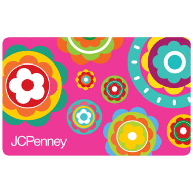 jcpenney.com | $100 Pink Flowers Gift Card