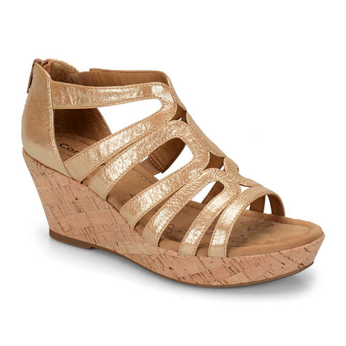 Comfortiva Redmond Strappy Wedge Sandals