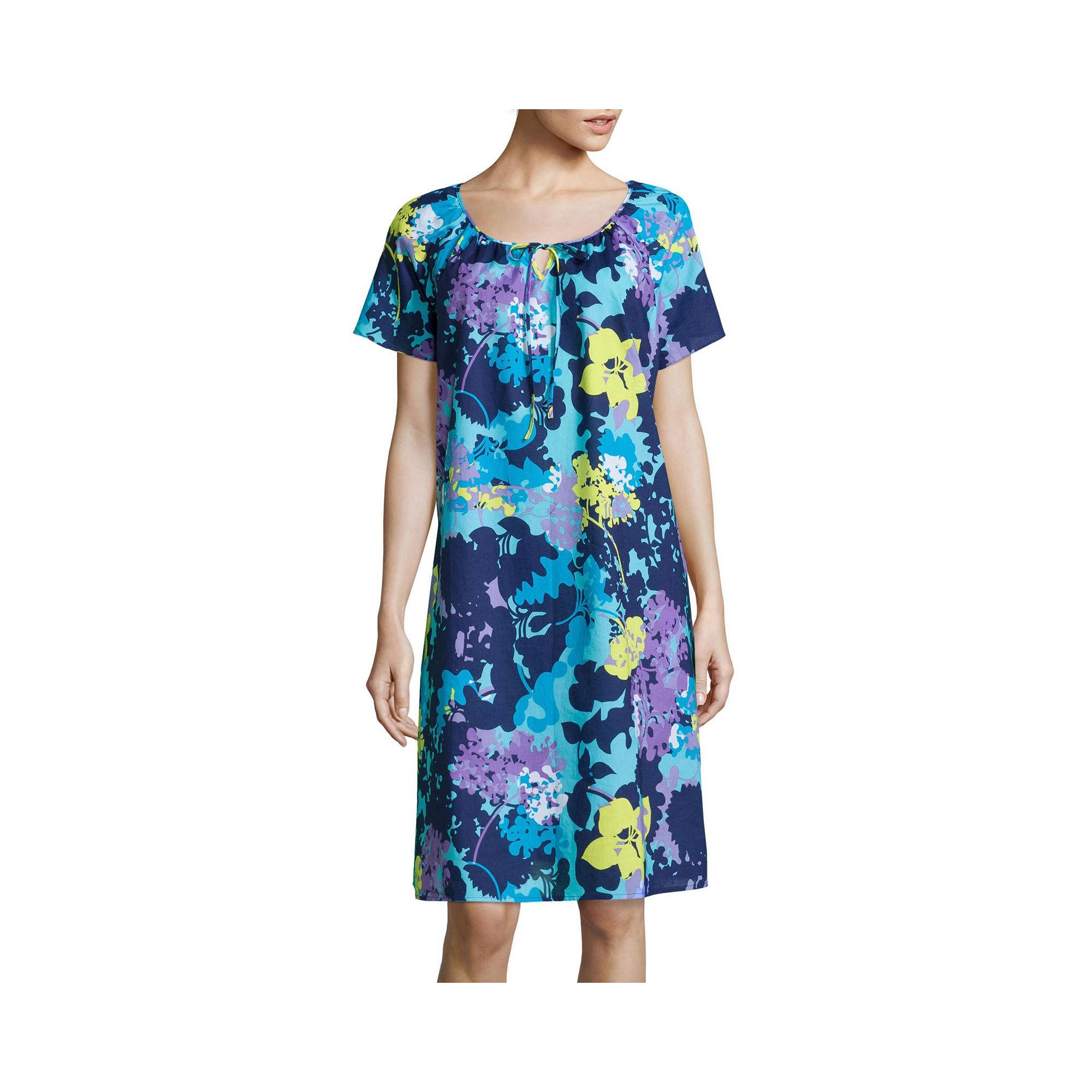 Adonna Flutter-Sleeve Caftan plus size,  plus size fashion plus size appare
