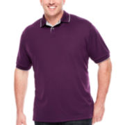 Claiborne® Short-Sleeve Performance Polo - Big & Tall