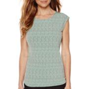 Liz Claiborne® Sleeveless Knit Top