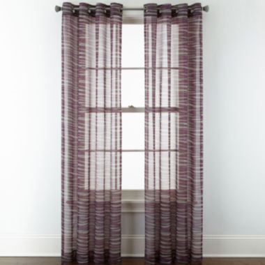 jcpenney.com | Studio™ Phoenix Sheer Grommet-Top Curtain Panel