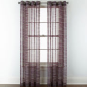 Studio™ Phoenix Sheer Grommet-Top Curtain Panel
