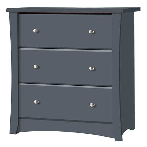 Storkcraft Crescent 3-Drawer Nursery Dresser