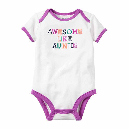 Carter's Infant Girls Shortsleeve Bodysuit
