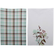 Corelle® Twilight Grove Set of 2 Dish Towels