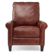 Petite Leather Recliner