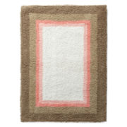 Multi-Frame Reversible Cotton Bath Rug