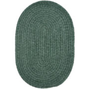 South Point Reversible Braided Oval Rug