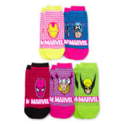 5-pk. Marvel Character Low Cut Socks
