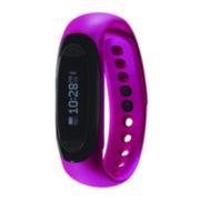 Soleus Dash Womens Pink Silicone Strap Fitness Tracker Sport Watch